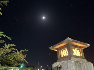 下鴨神社 中秋の名月