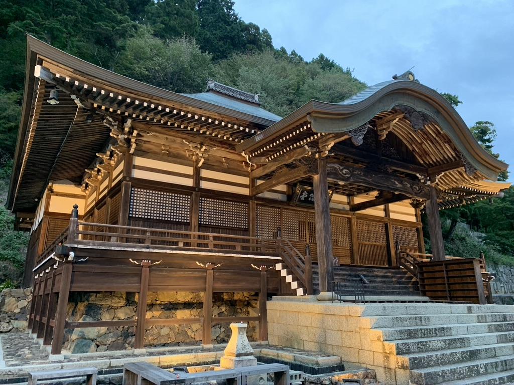 勝尾寺 法然上人第五番霊場 二階堂