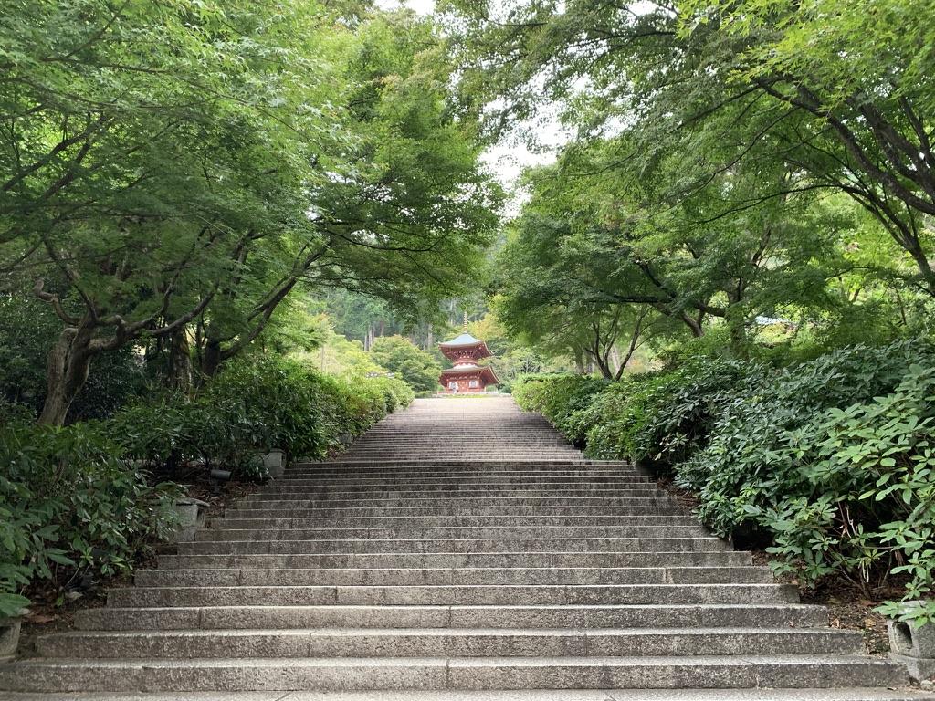 勝尾寺 参道