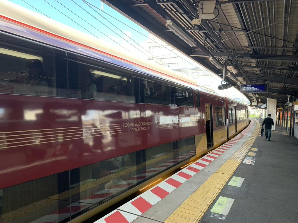 西国三十三所 京阪電車 2階建車両