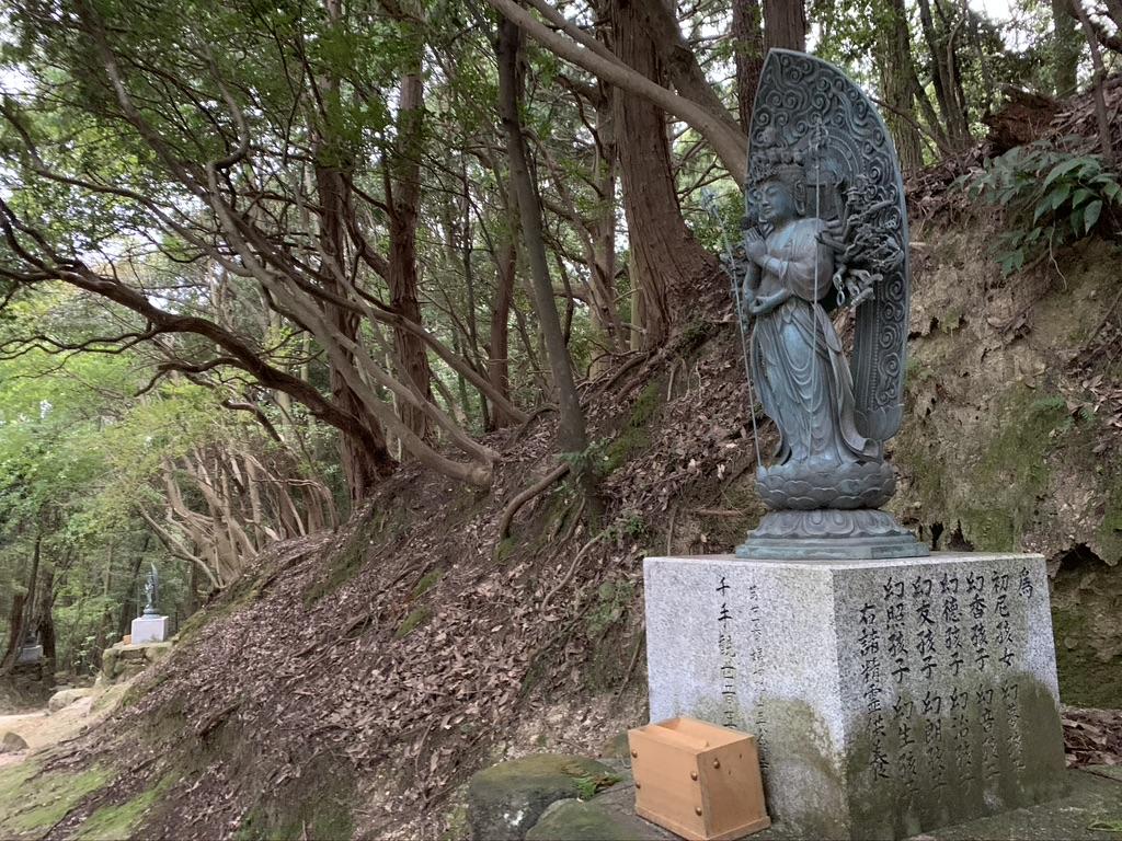 書寫山 圓教寺 参道 仏像