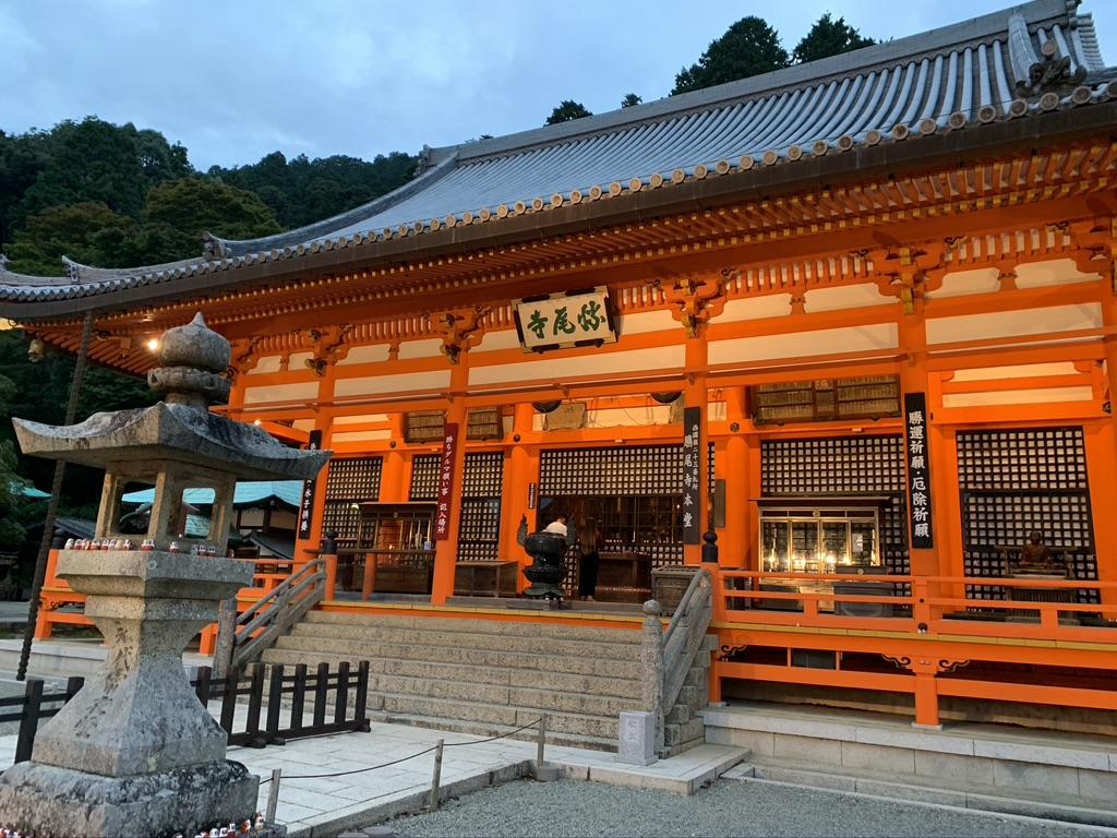 勝尾寺 本堂 ライトアップ