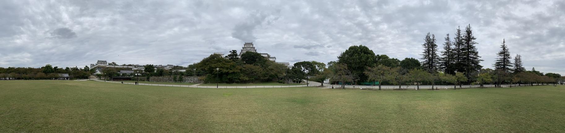 姫路城 三ノ丸 パノラマ
