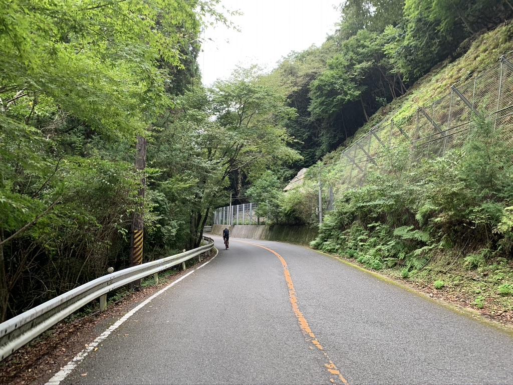 勝尾寺 参拝道 自転車
