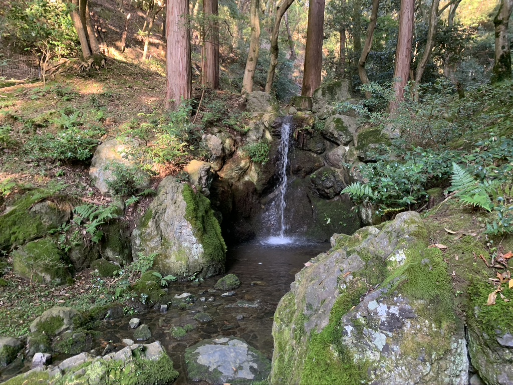 西国三十三所 醍醐寺 伽藍 無量寿苑 滝