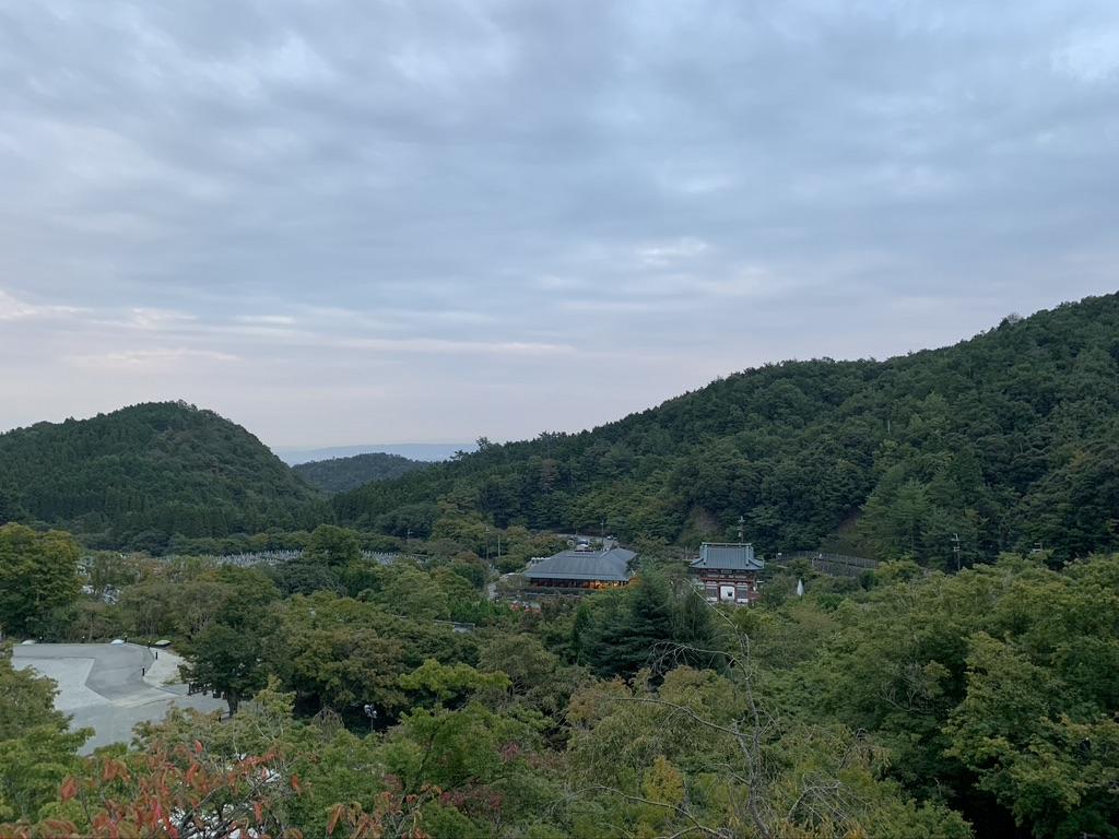 勝尾寺 展望