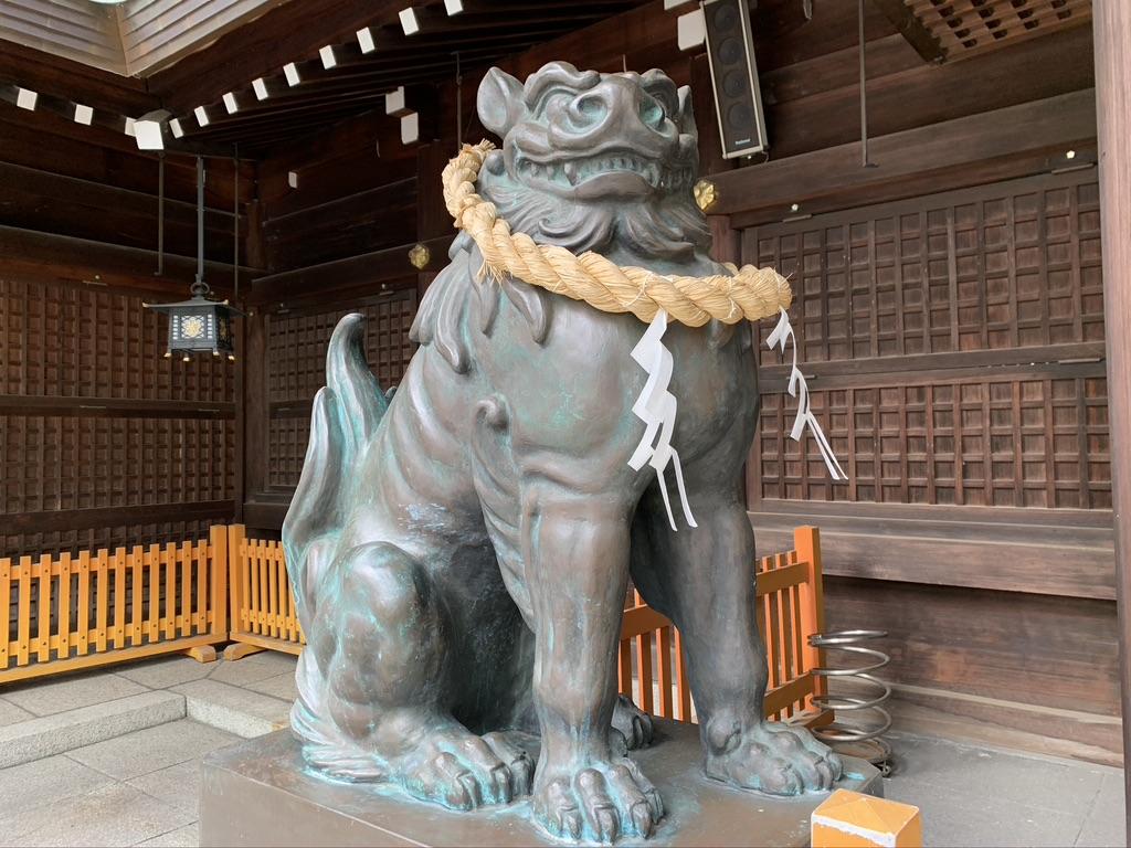 姫路護国神社 狛犬