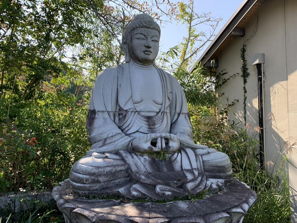 壺阪寺 天竺渡来阿弥陀如来石像