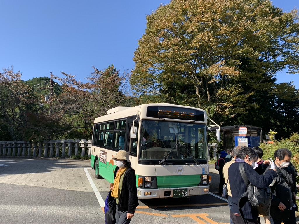 壺阪寺 壺阪寺前バス停