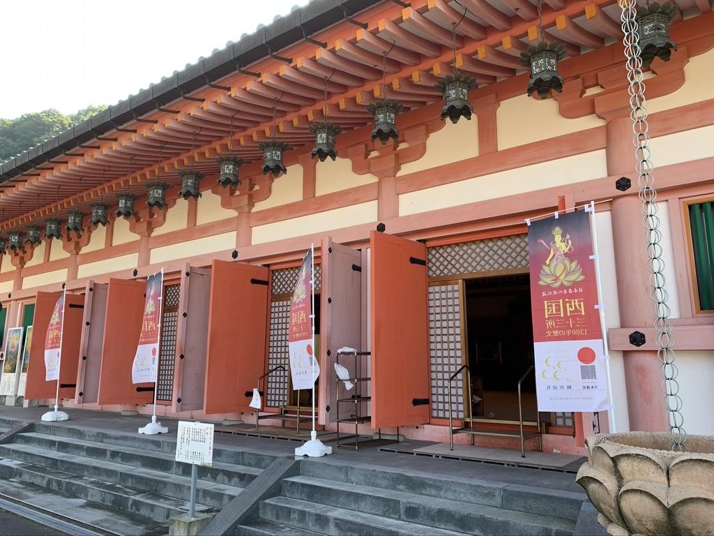 壺阪寺 大講堂