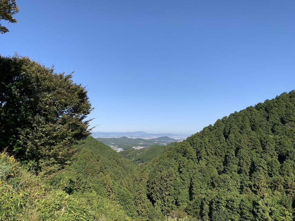 壺阪寺 見晴らし
