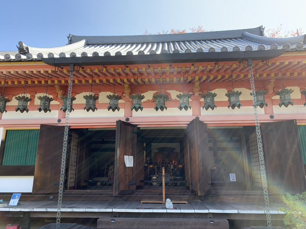 壺阪寺 灌頂堂