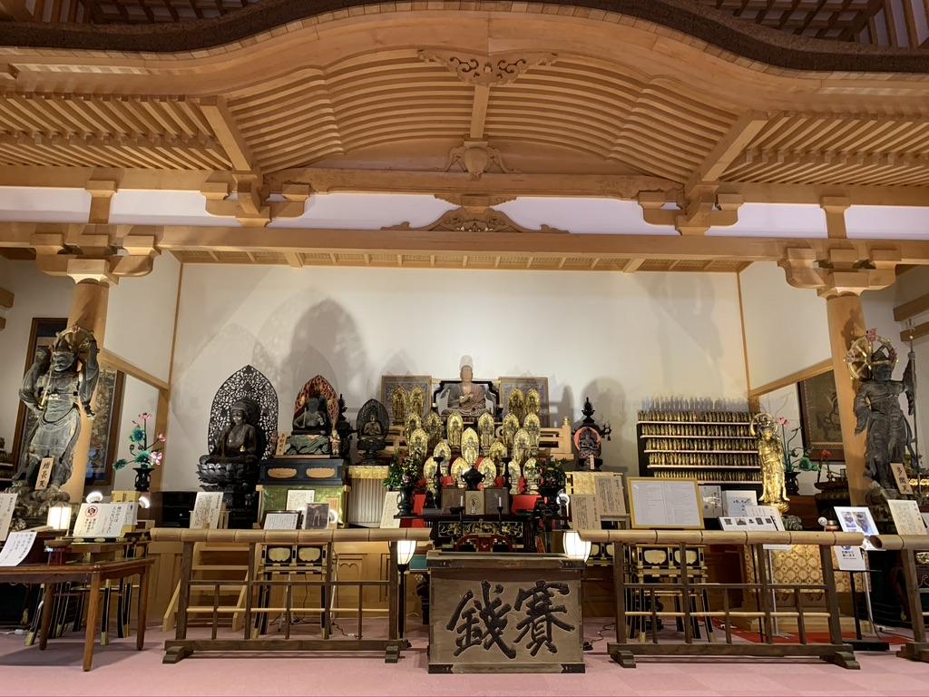 壺阪寺 大講堂 仏像
