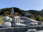 壺阪寺 天竺渡来大涅槃石像