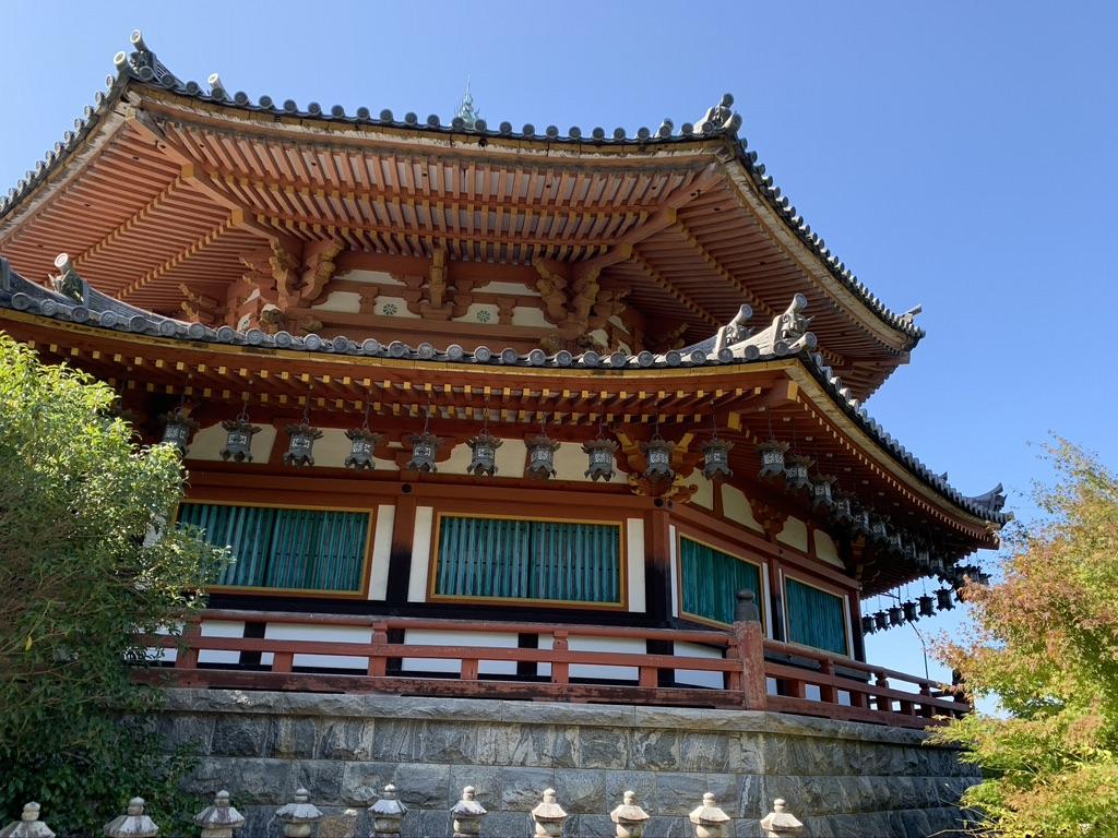 壺阪寺 八角円堂