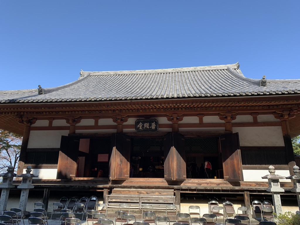 壺阪寺  禮堂