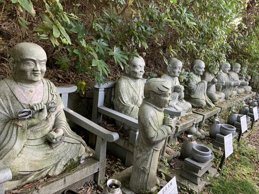 壺阪寺 天竺渡来真言八祖像