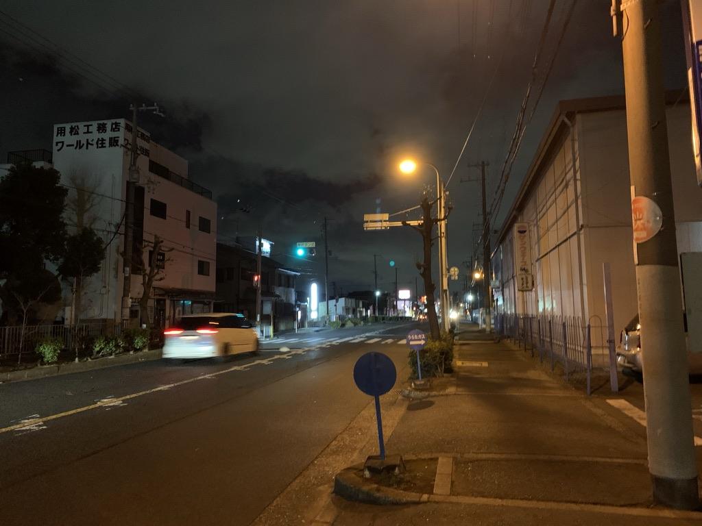 岸和田七宮詣 夜疑神社 参拝道