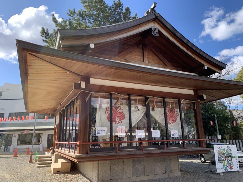 岸和田七宮詣 岸城神社 神楽殿