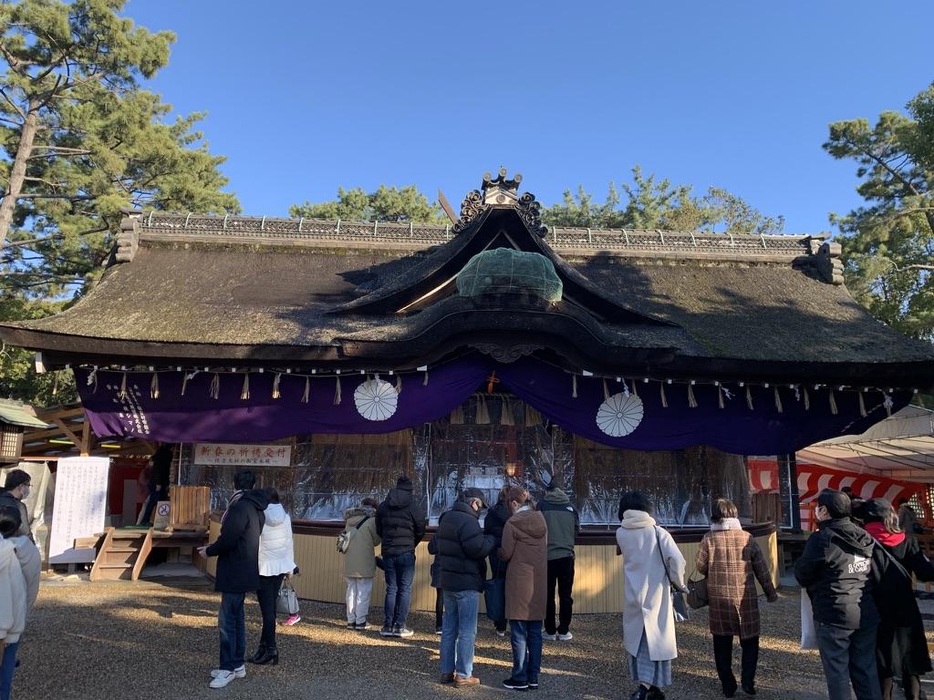 住吉大社 第一本殿