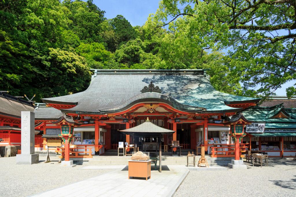 熊野那智大社 拝殿 和歌山県公式観光サイト