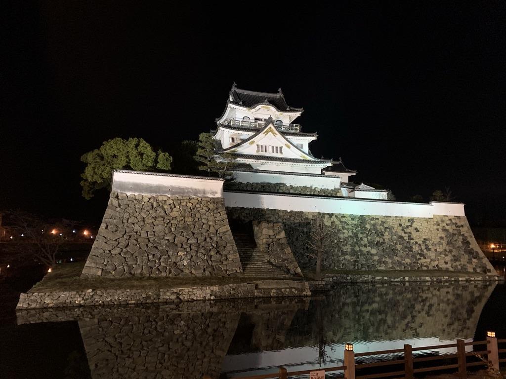 岸和田城 夜 ライトアップ