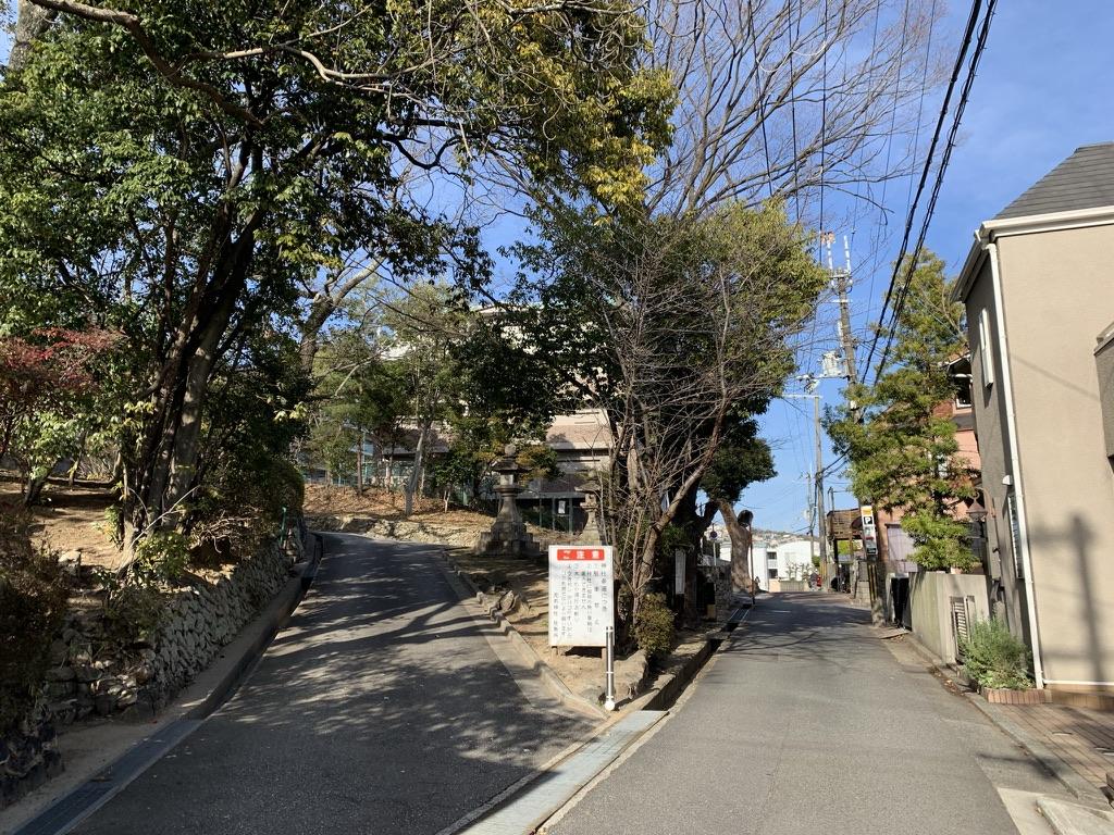 売布神社 参詣道