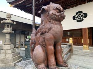 岸城神社 狛犬