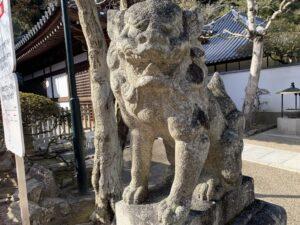 清荒神清澄寺 狛犬