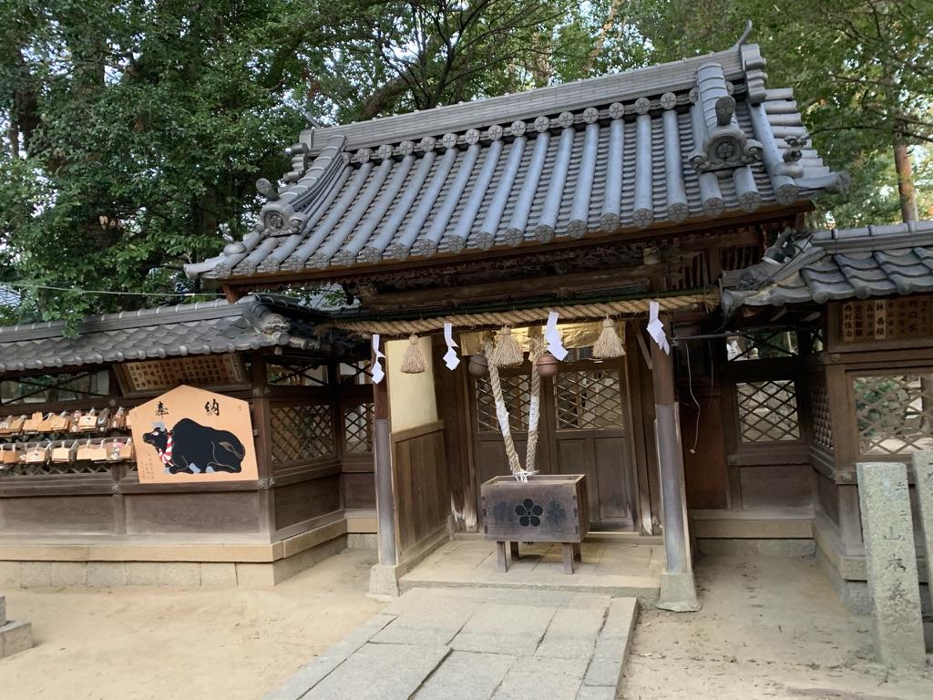 土生神社 拝殿