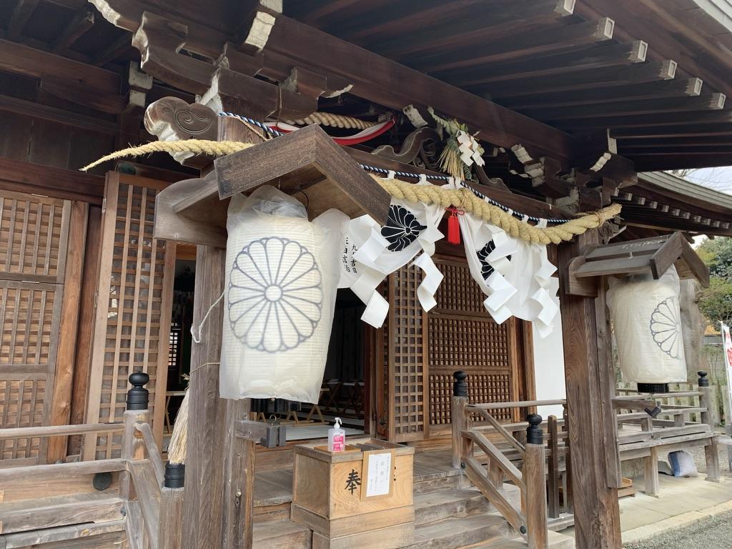 岸和田七宮詣 積川神社 拝殿