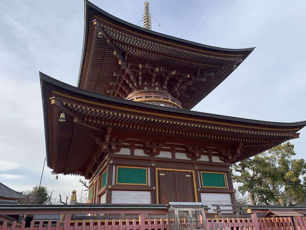 久米田寺 多宝塔