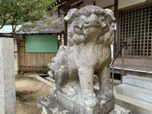 売布神社 狛犬