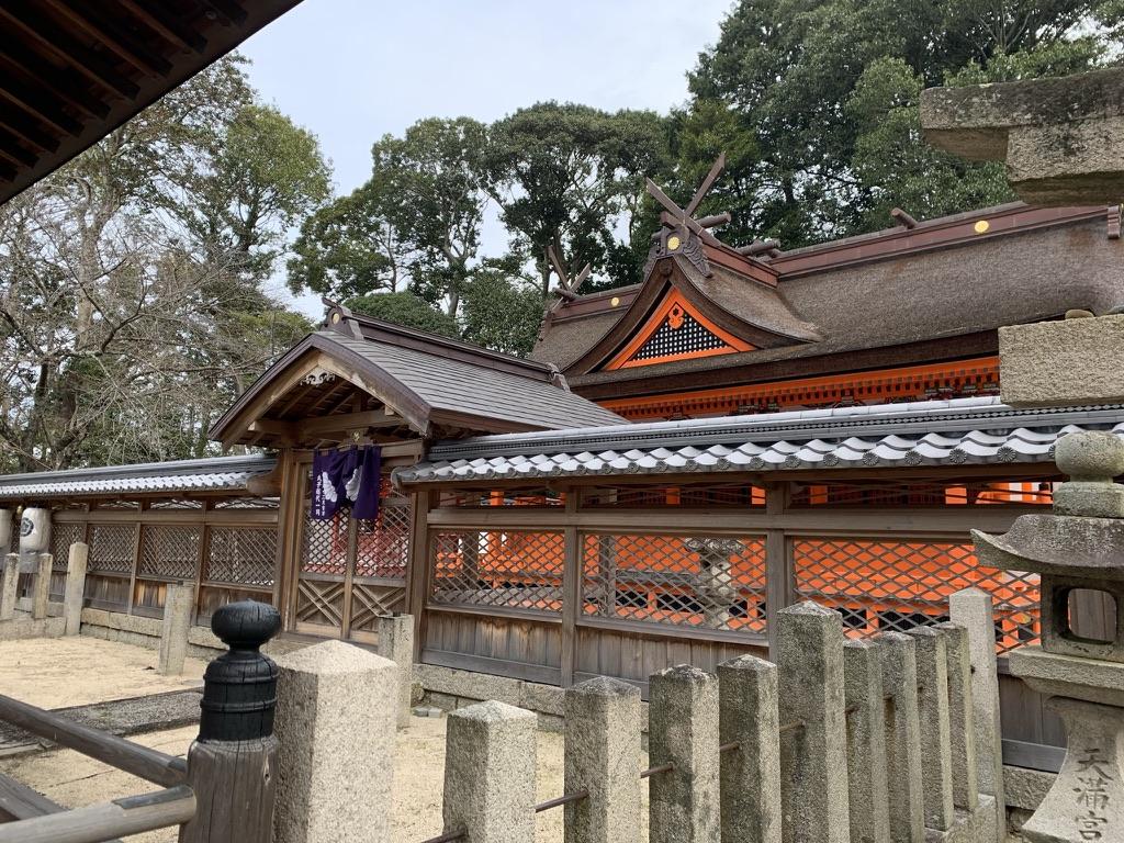岸和田七宮詣 積川神社 本殿