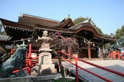 道明寺天満宮 拝殿 藤井寺市公式ホームページ