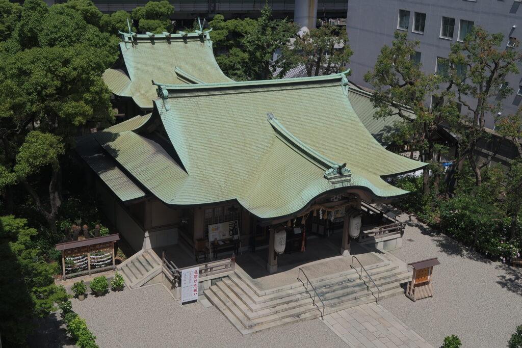 坐摩神社 拝殿 大阪観光局公式サイト