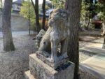 市杵島姫神社 狛犬
