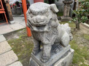 太融寺 白竜明神 狛犬