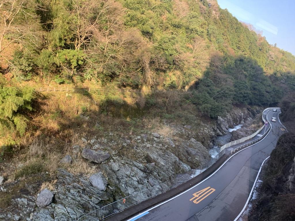 南海高野線 風景 渓谷