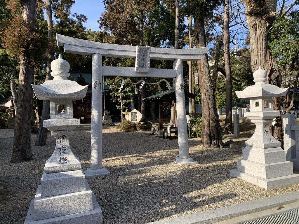市杵島姫神社 一ノ鳥居