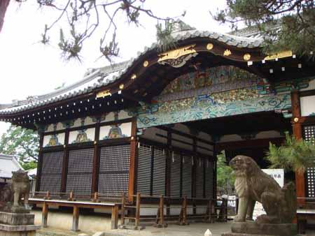御香宮神社 拝殿 御香宮神社公式ホームページ