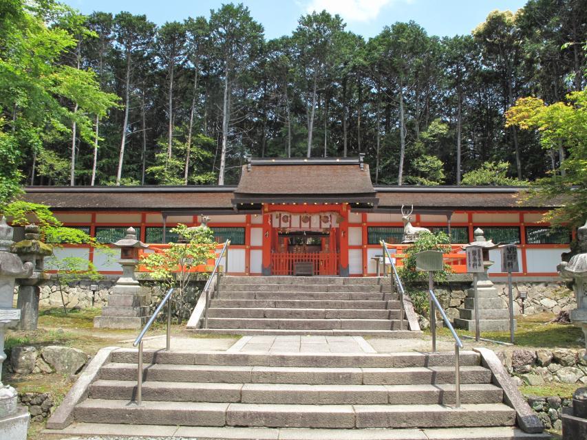 大原野神社 拝殿 京都市観光協会公式ホームページ
