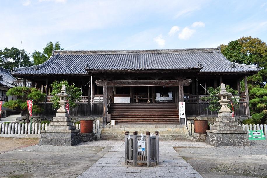 廣峯神社 拝殿 本殿 姫路観光公式ホームページ