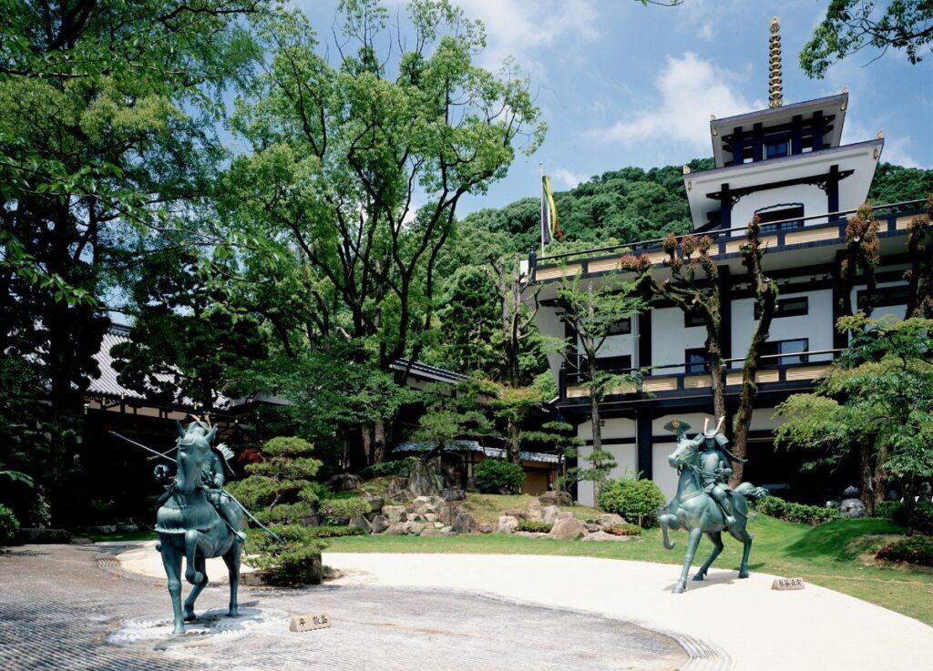 須磨寺 源平の庭 神戸公式観光サイト