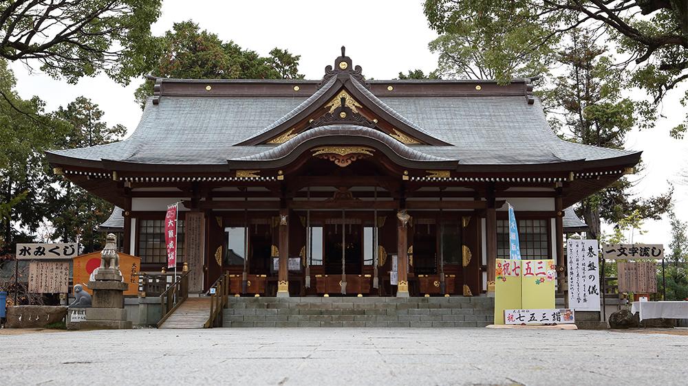 赤穂大石神社 拝殿 赤穂観光協会公式ホームページ
