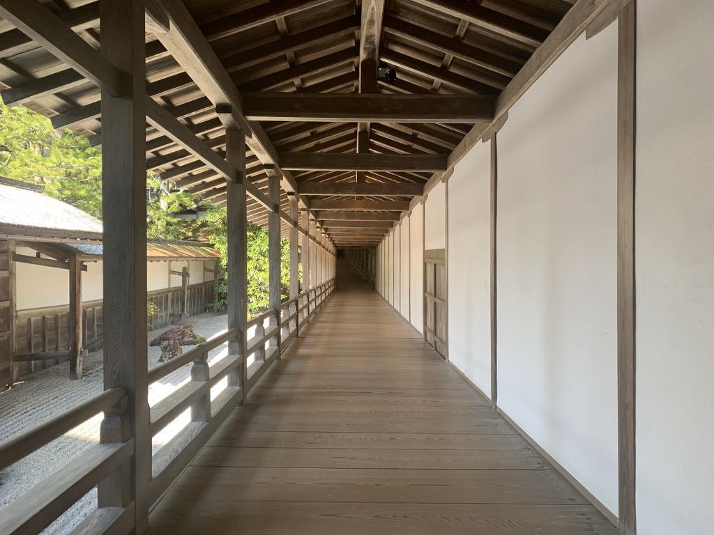 高野山 金剛峯寺 廊下