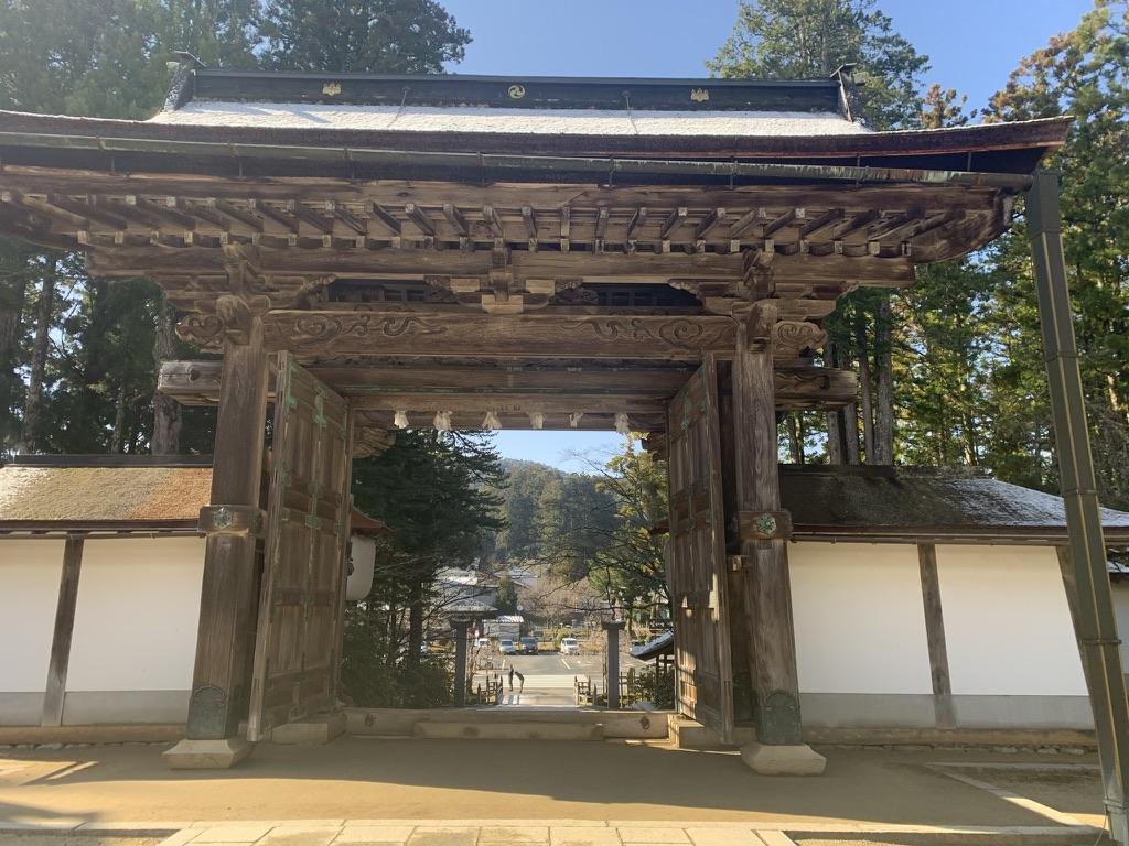 金剛峯寺 山門 正門