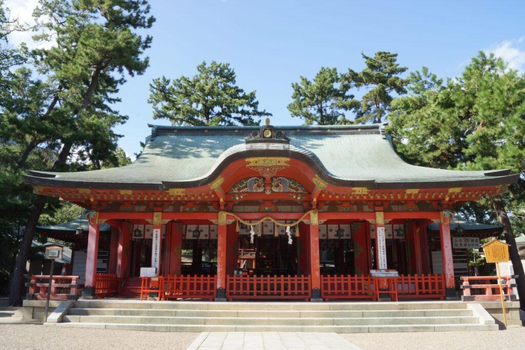 長田神社 拝殿 神戸公式観光サイト