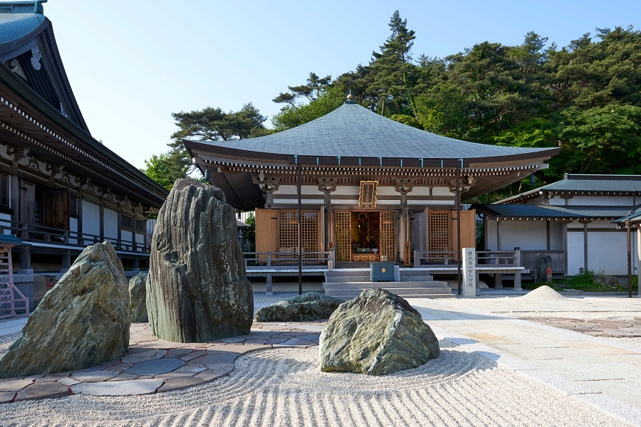 摩耶山 忉利天上寺 石庭 Feel Kobe 神戸公式観光サイト