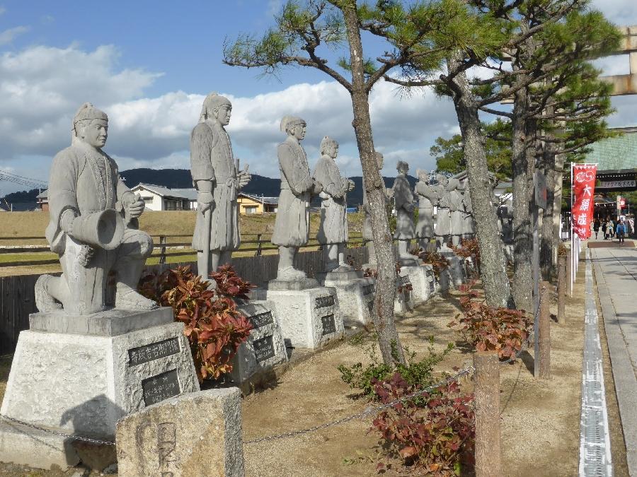 赤穂大石神社 四十七義士石像 忠臣蔵ウィーク公式ホームページ